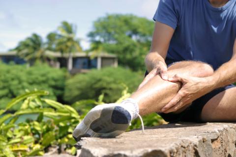 ont i foten hälsporre